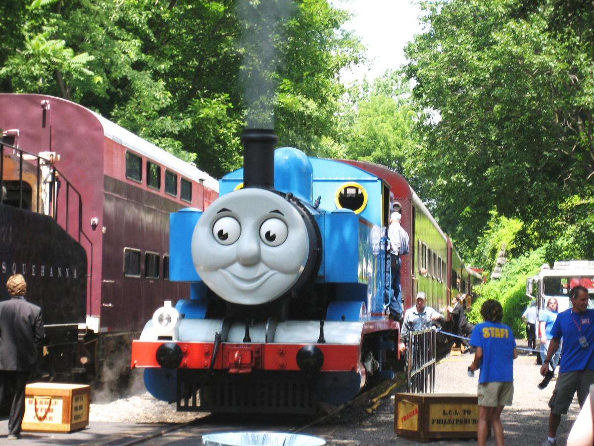 Thomas the Tank Engine Replica at A Day Out With Thomas