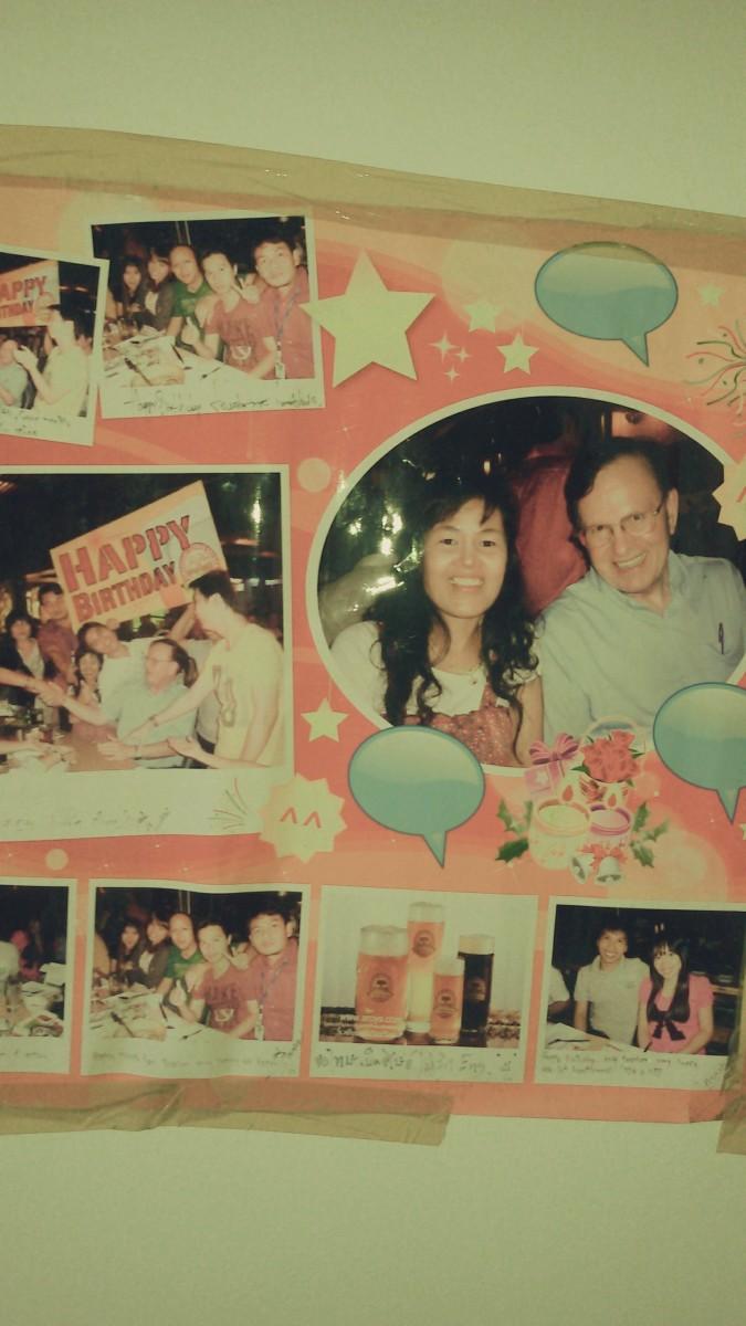 My 66th birthday party at Tawan Taeng Supper Club in Bangkok.  Taken in 2010.