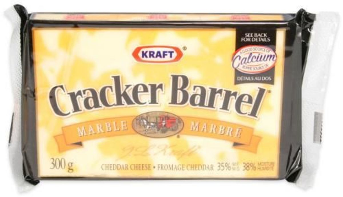 In 1954, Kraft introduced its Cracker Barrel brand of natural cheese.