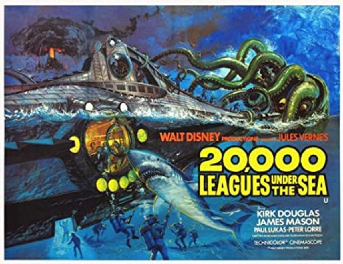 In 1954, Walt Disney's 20,000 Leagues Under the Sea was one of the first films shot in CinemaScope.
