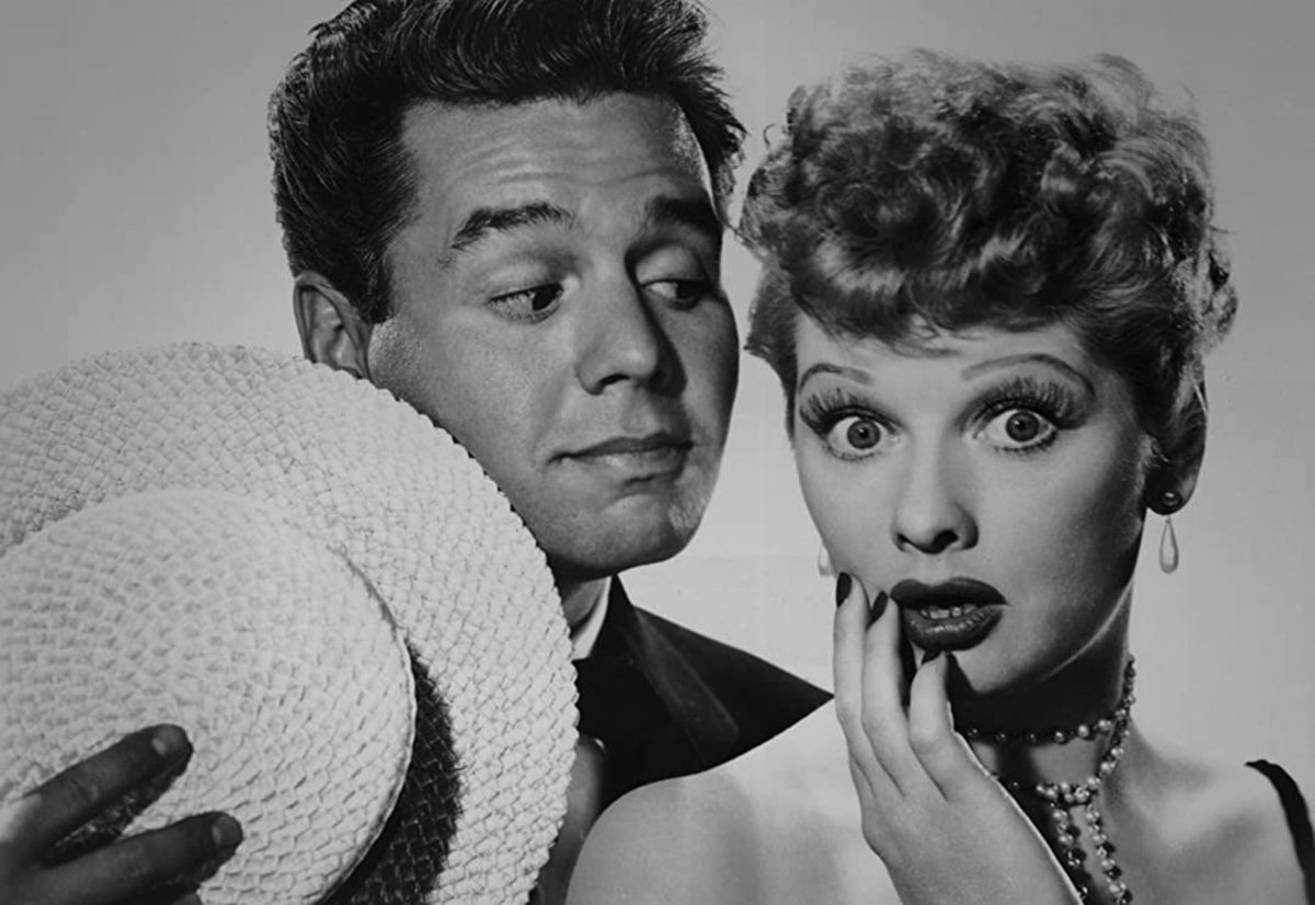 In 1954, I Love Lucy—a TV sitcom that starred Lucille Ball, Desi Arnaz, Vivian Vance, and William Frawley—was the most popular American television show.