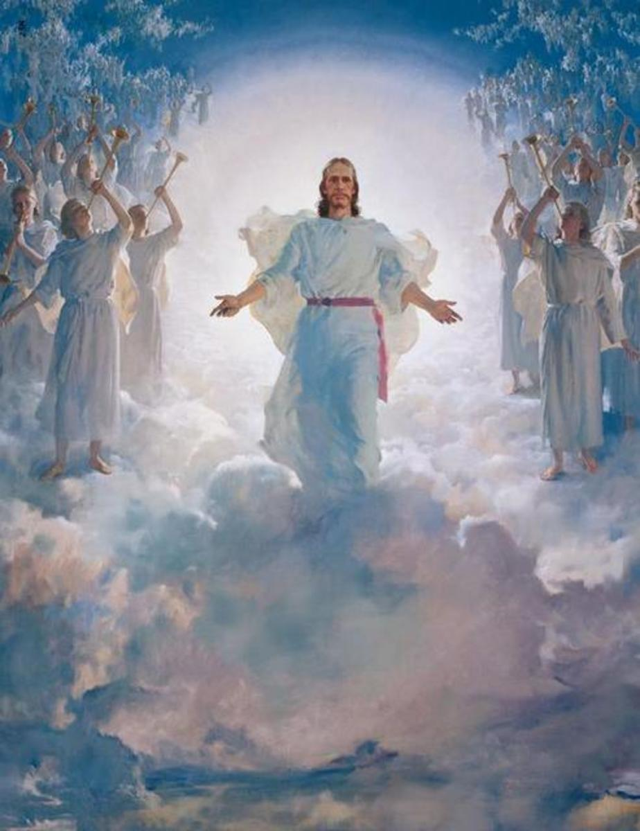 """THE SECOND COMING OF CHRIST"" BY HARRY ANDERSON 1965"