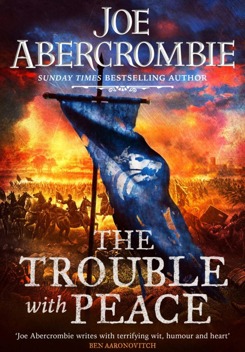 UK cover to The Trouble with Peace.