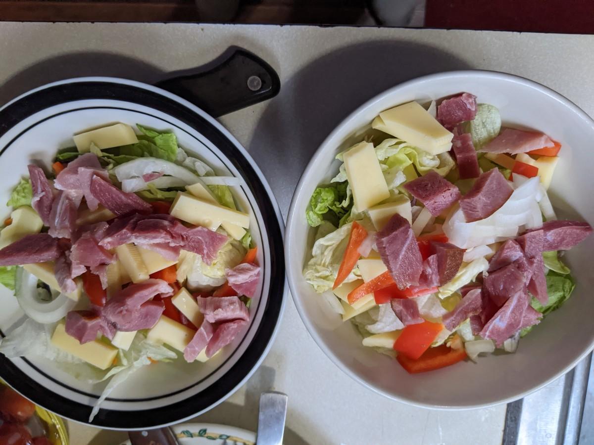 added ham
