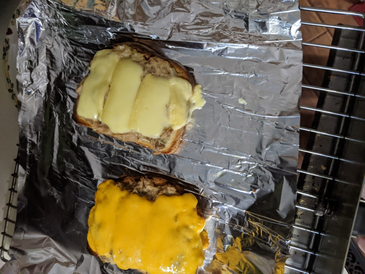 Grill until cheese melts