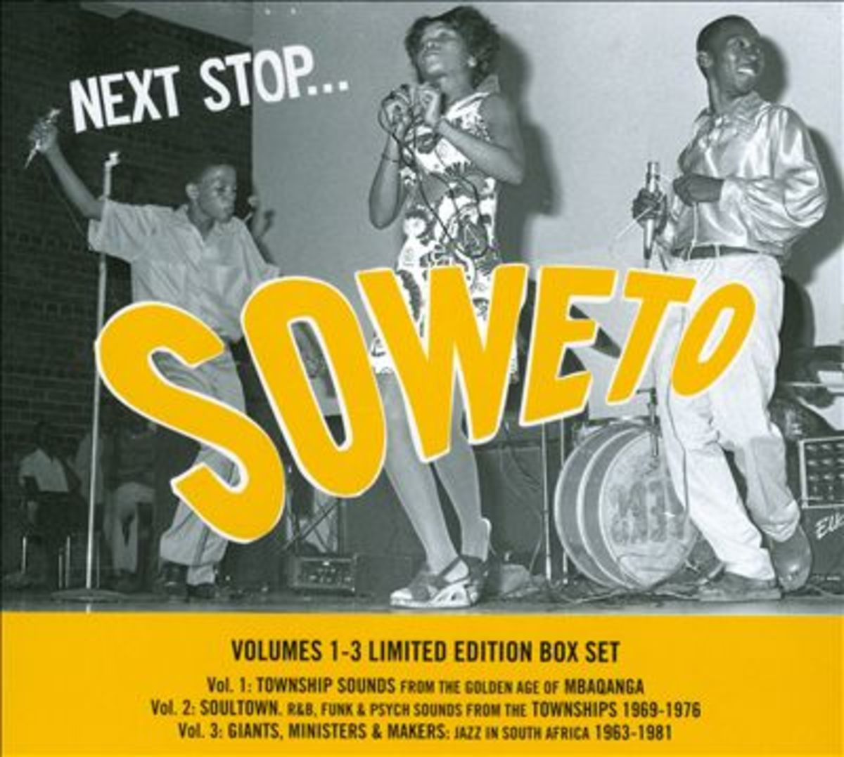 Various Music and Artists From Soweto Past Music Known as Mbaqanga