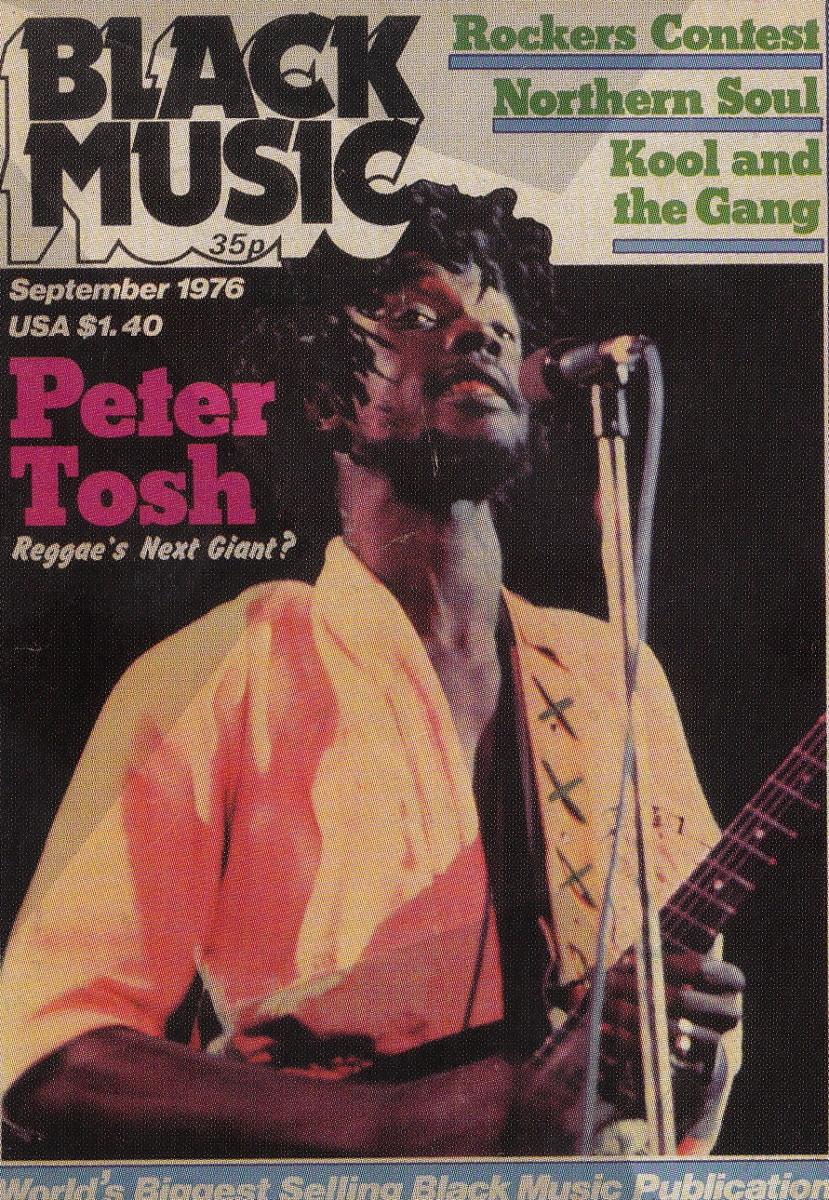 Peter Tosh, the legendary Reggae Singer