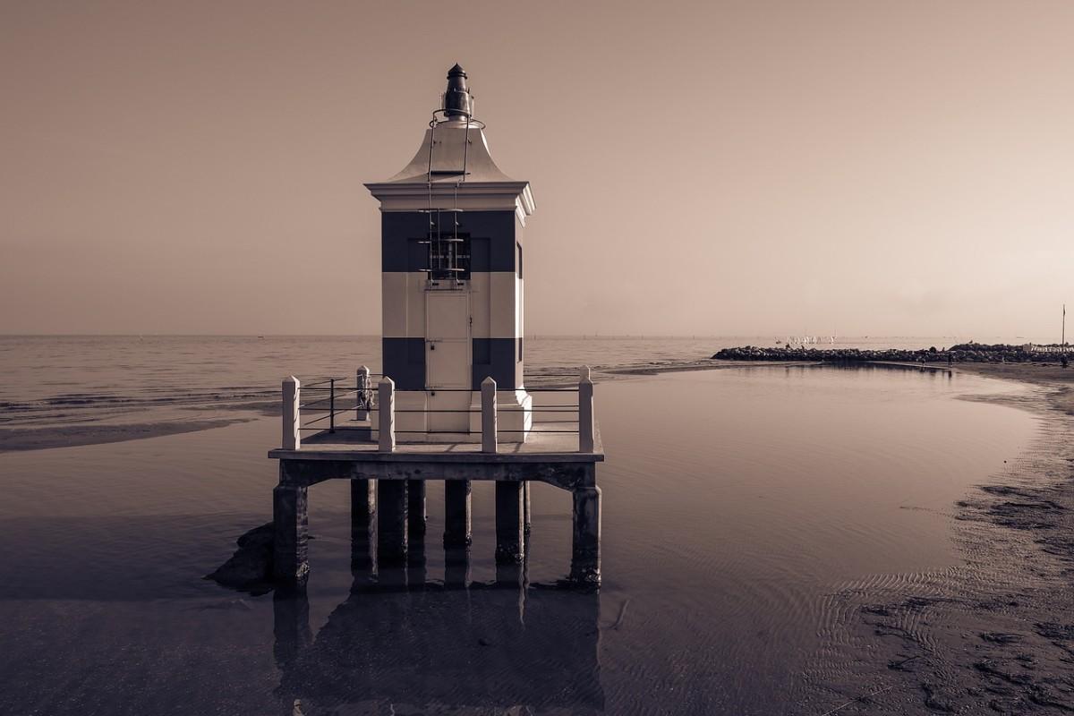 Lignano Sabbiadoro, the Lighthouse