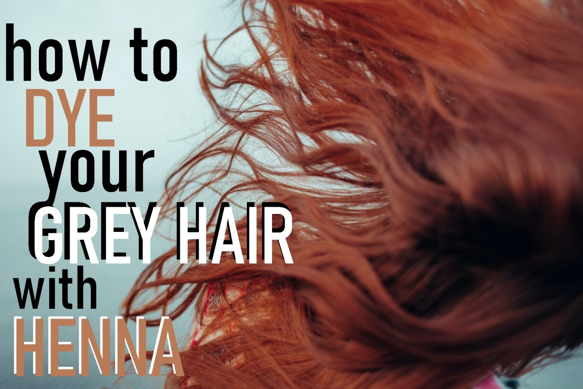 Cover up that grey hair with henna instead of box dye!