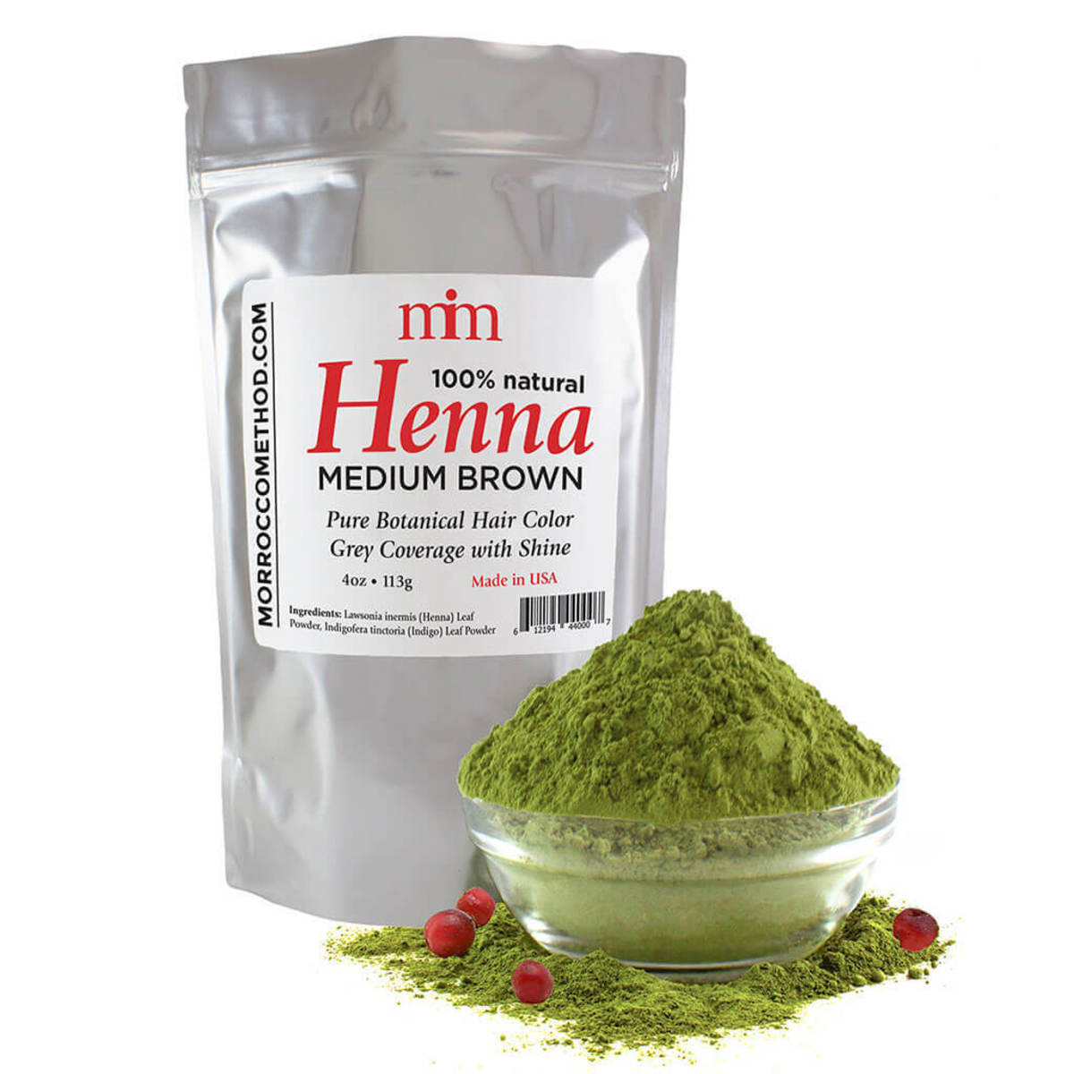This is the henna dye this tutorial is based on.