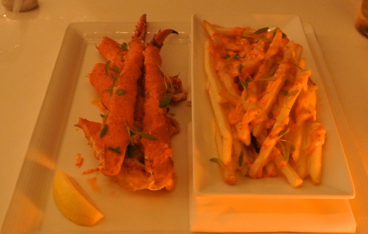 Spicy Alaskan King Crab Claws