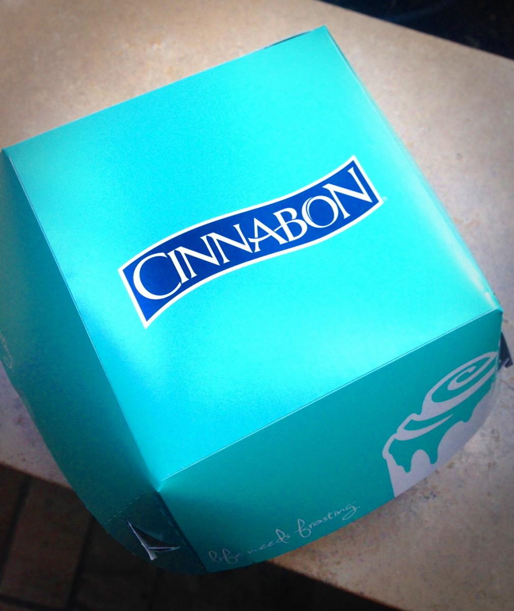 Cinnabon box