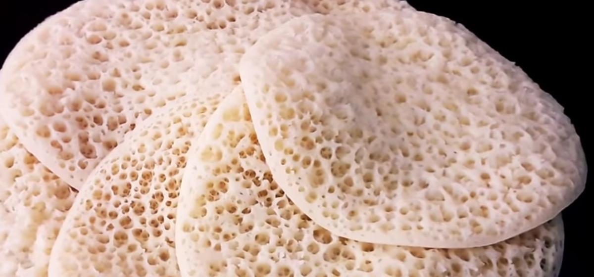 Easy Moroccan Pancake
