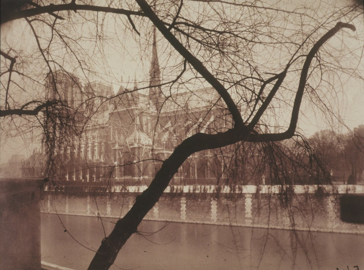 """NOTRE DAME"" BY ATGET IN 1925"