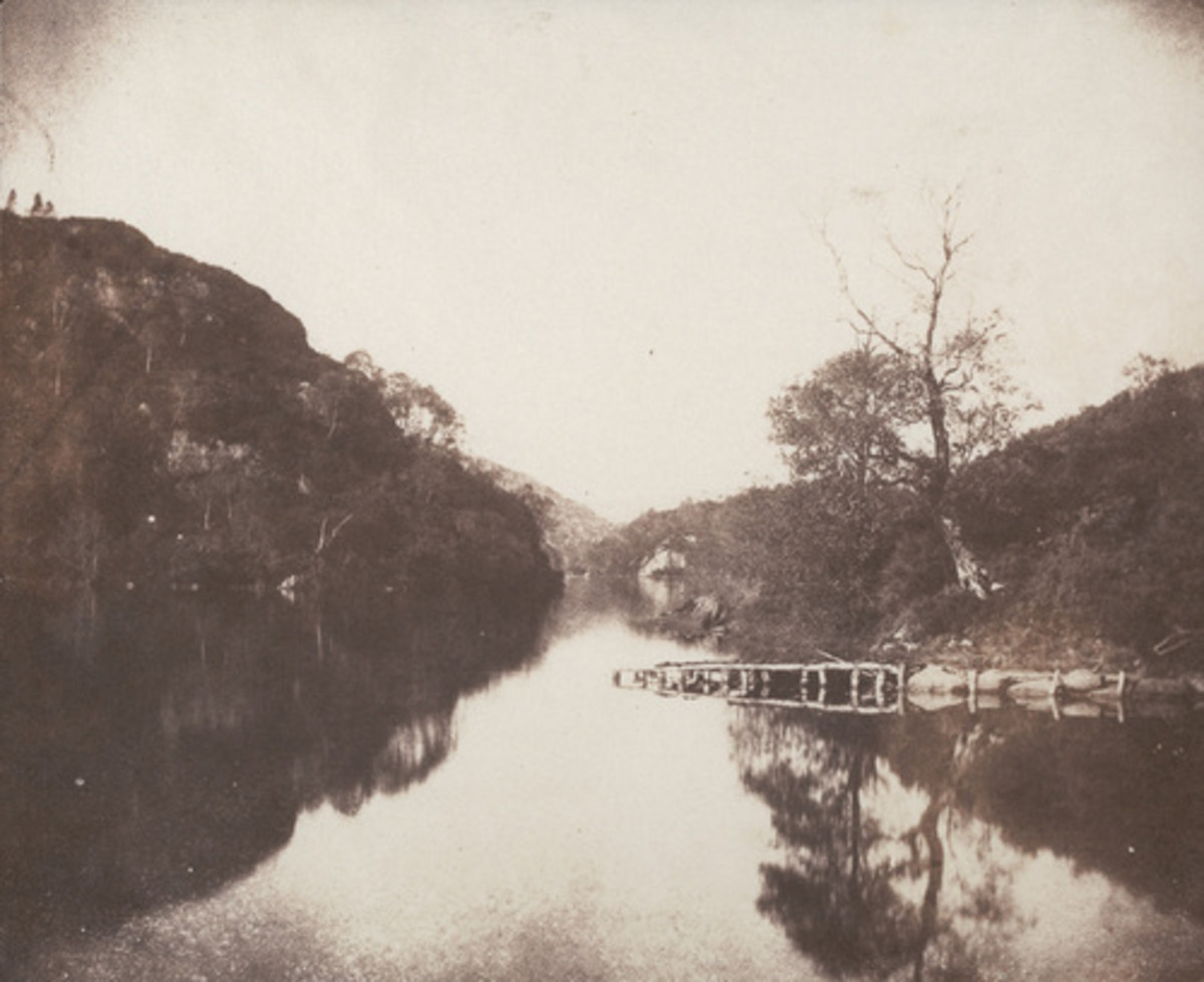 """LOCH KATRINE"" BY FOX TALBOT IN 1844"