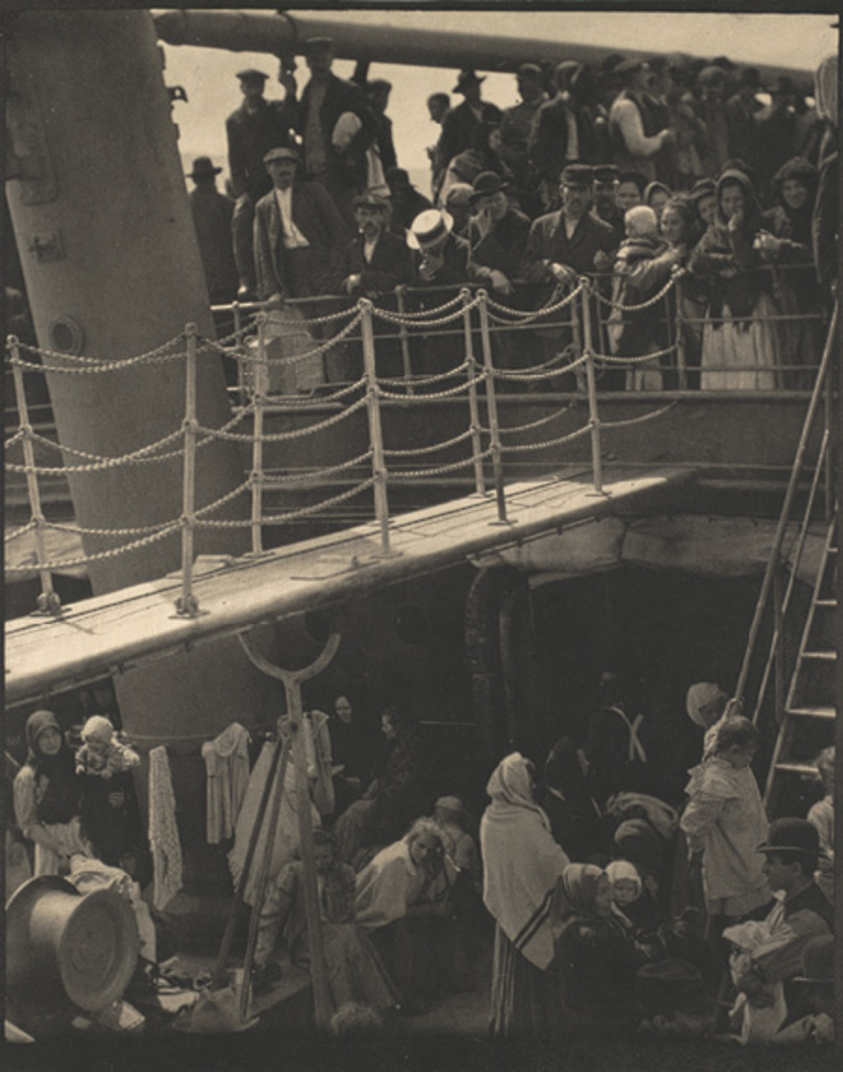 """THE STEERAGE"" BY ALFRED STIEGLITZ IN 1907"