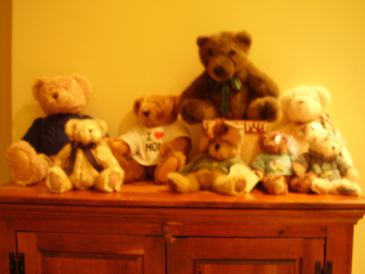 Some of my favorite Teddy Bears