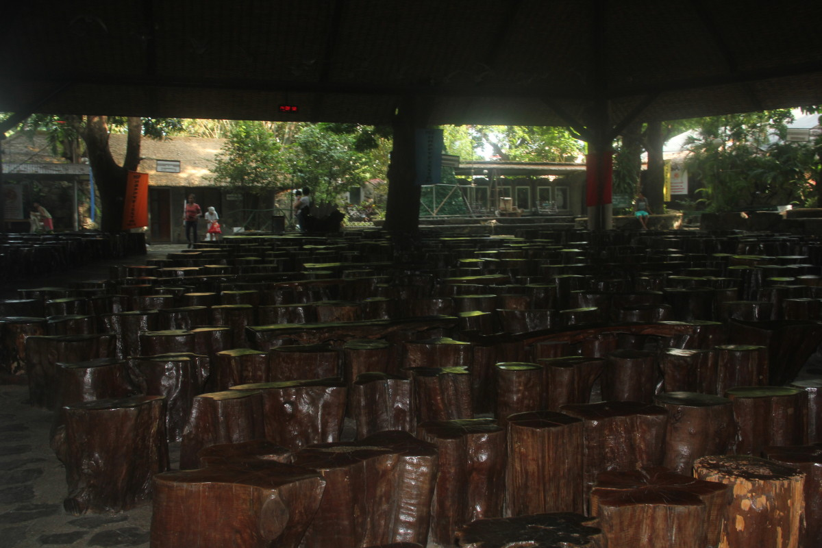Seats inside Mary Immaculate Parish. (Photo by the author)