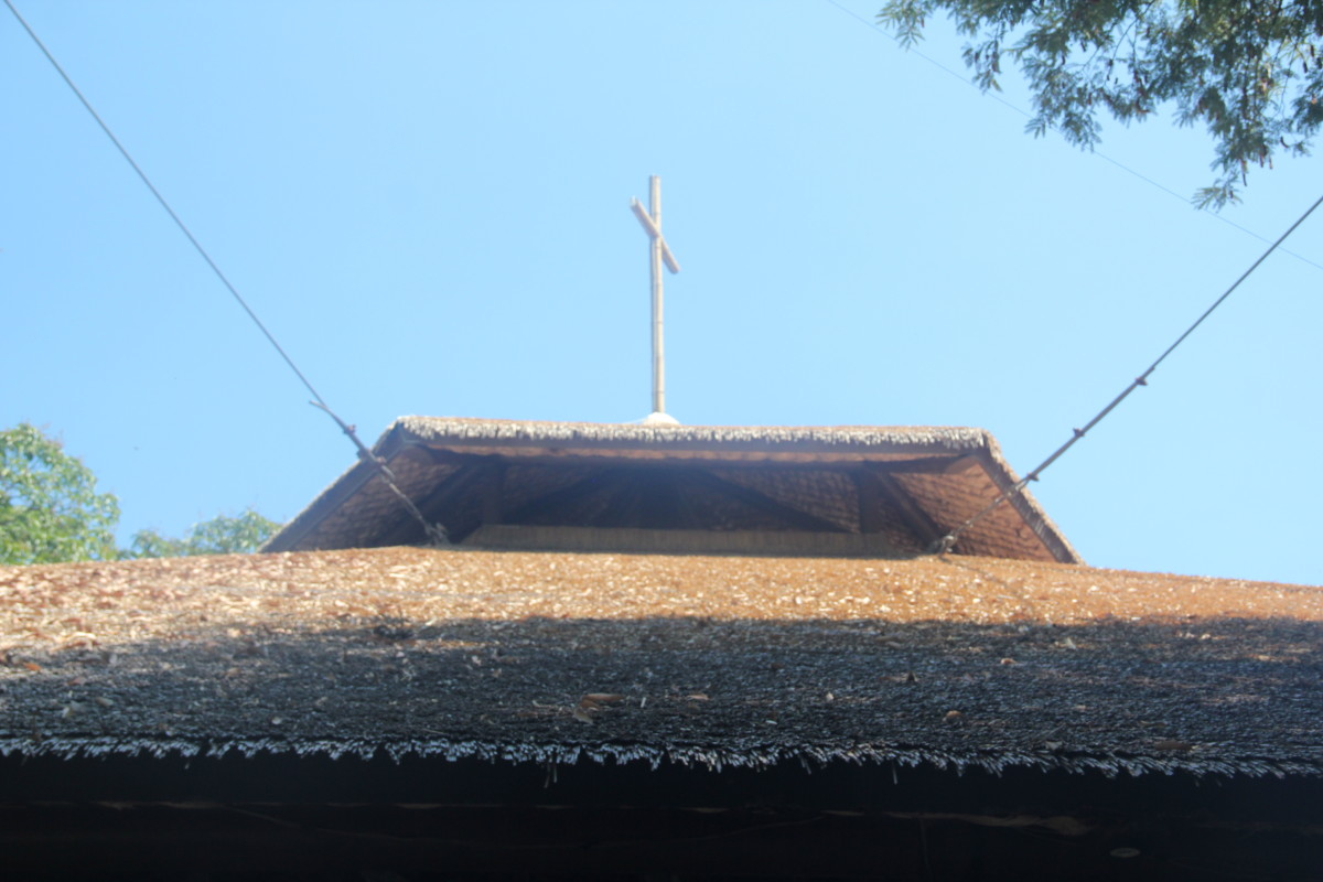 Roof of Mary Immaculate Parish (Photo by the author)