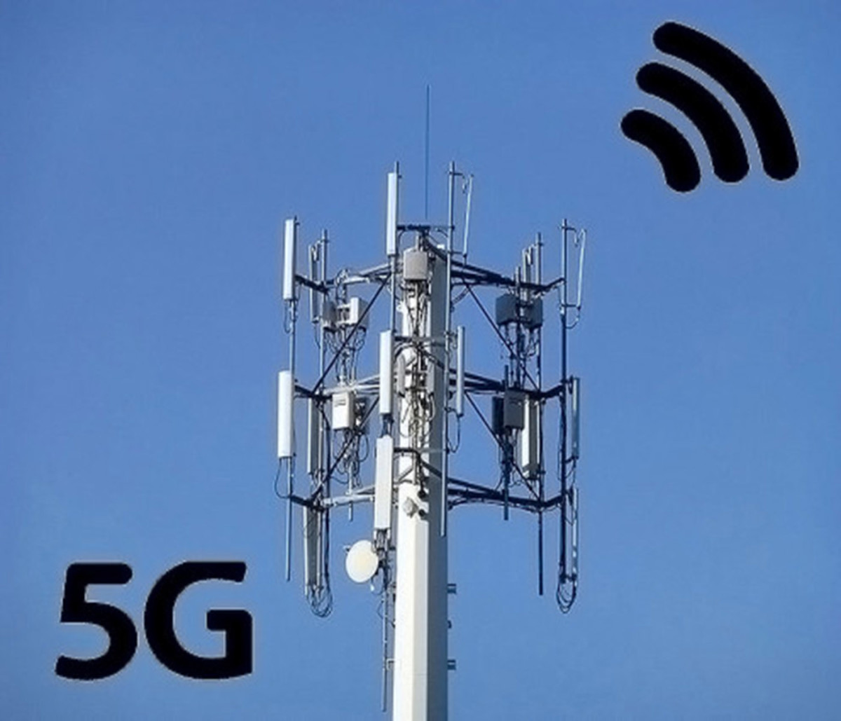 5g network tower