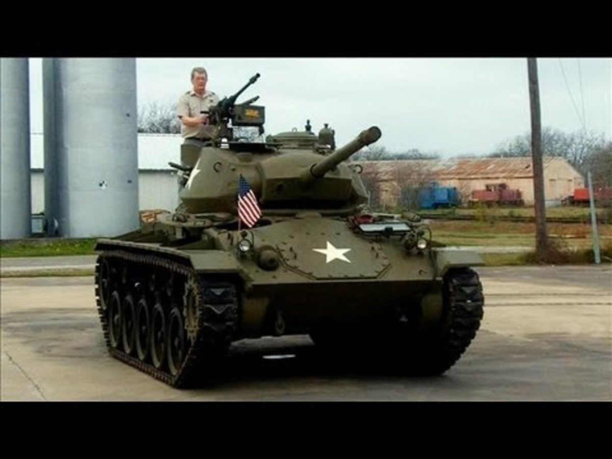Ride in a WWII Chaffee