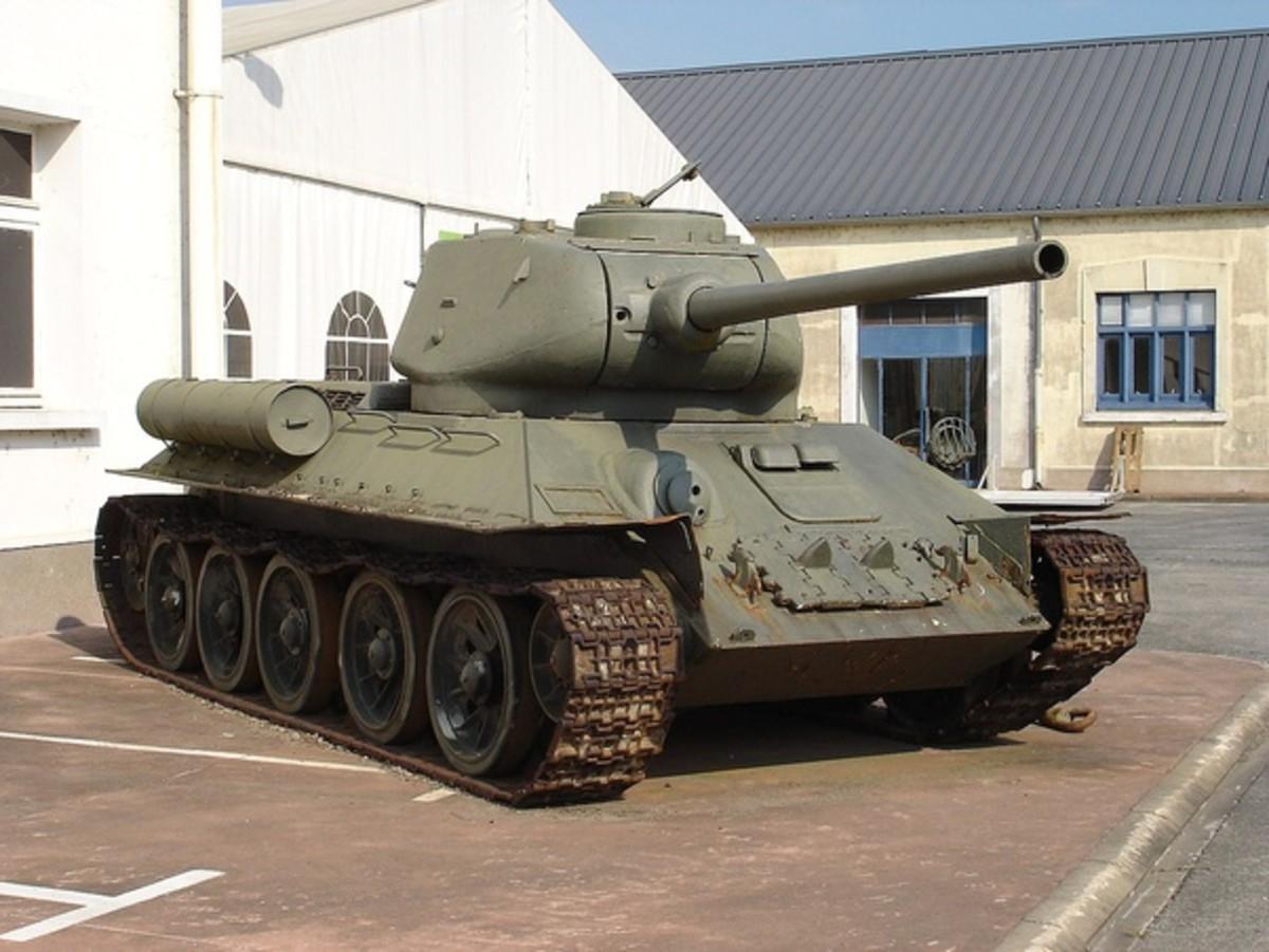Soviet T34- cheaper but gas guzzler