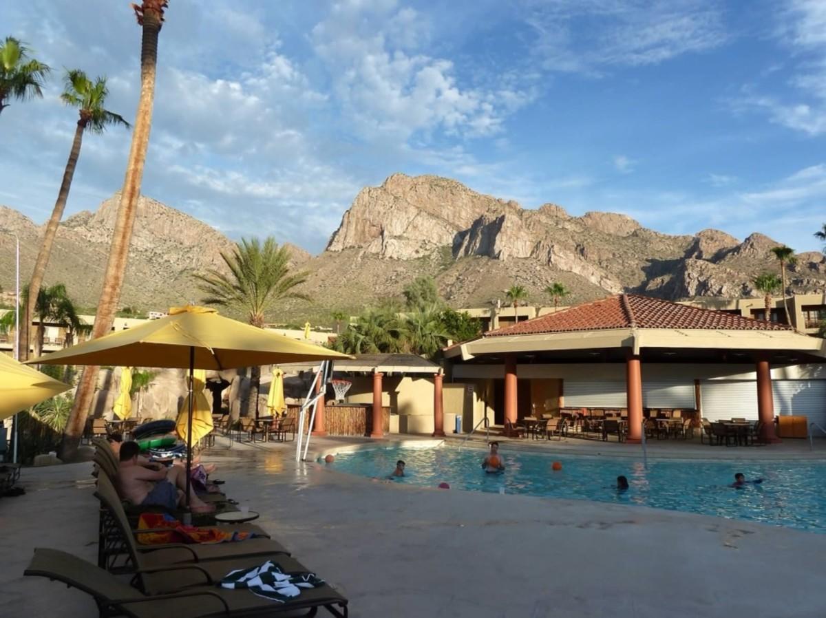 The Hilton El Conquistador in Tuscon, AZ
