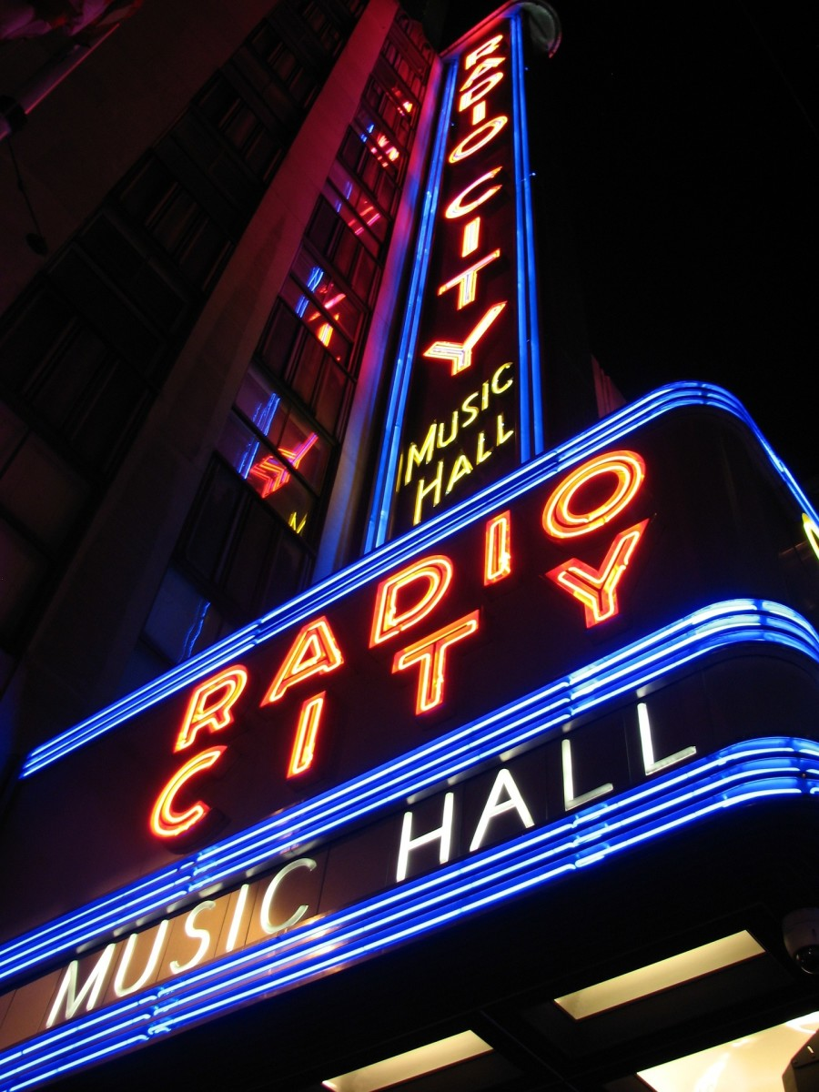 A look at Radio City Music Hall in New York City but also this photo symbolizes where the band Anthrax is from.