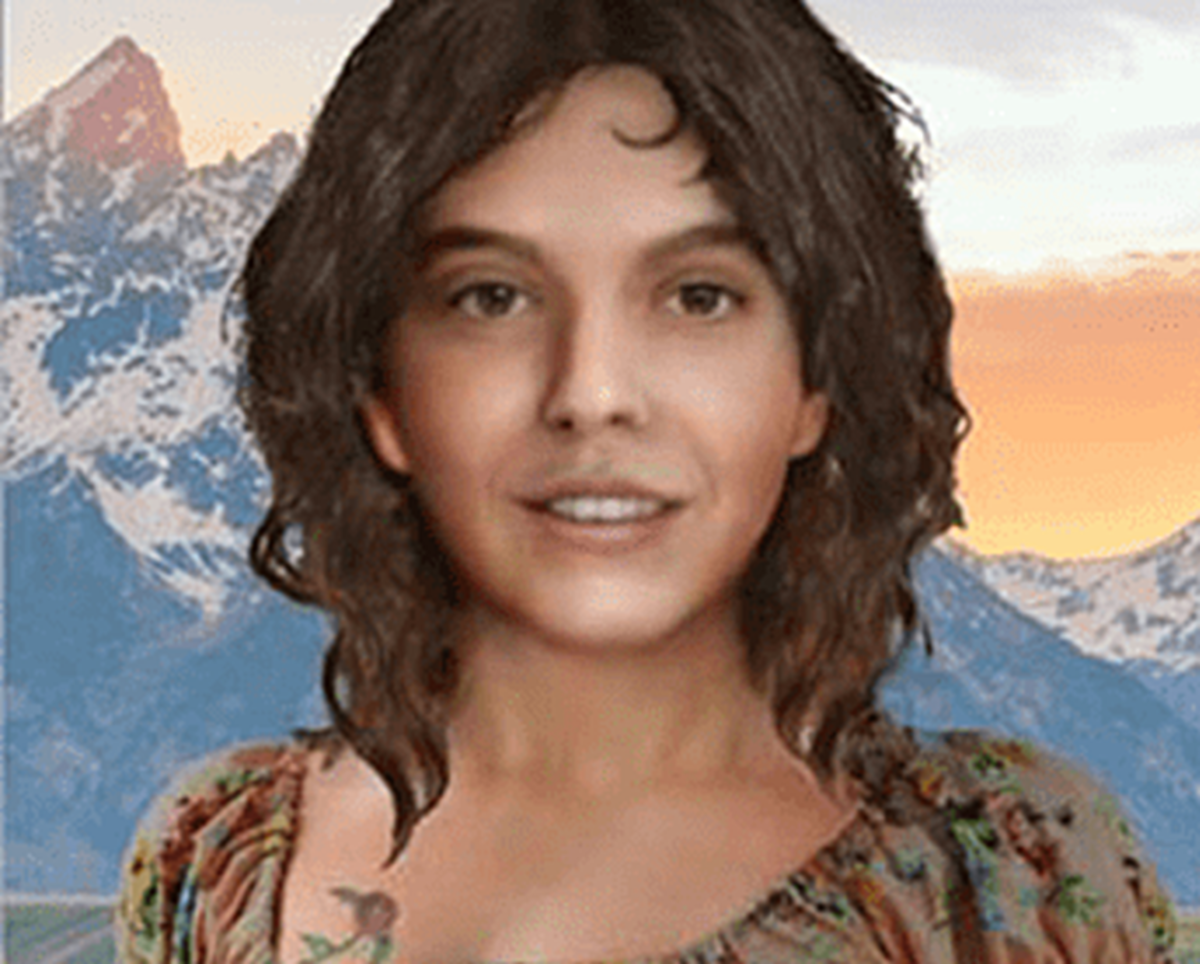 Composite of the unidentified murder victim who became known as Bitter Creek Betty found in 1992 in Sweetwater County, Wyoming. Photo courtesy of Unidentified Wikia.
