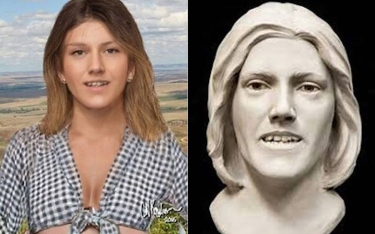 Composites of an unidentified woman named the Sheridan County Jane Doe, who was found April 13, 1992, in Sheridan, Wyoming. Photo courtesy of Unidentified Wikia.