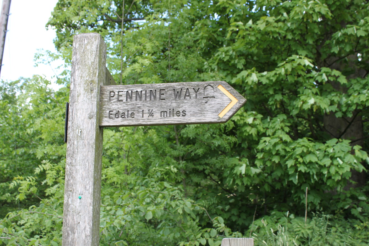 Key your eyes out for Pennine Way signs along the route back to Edale