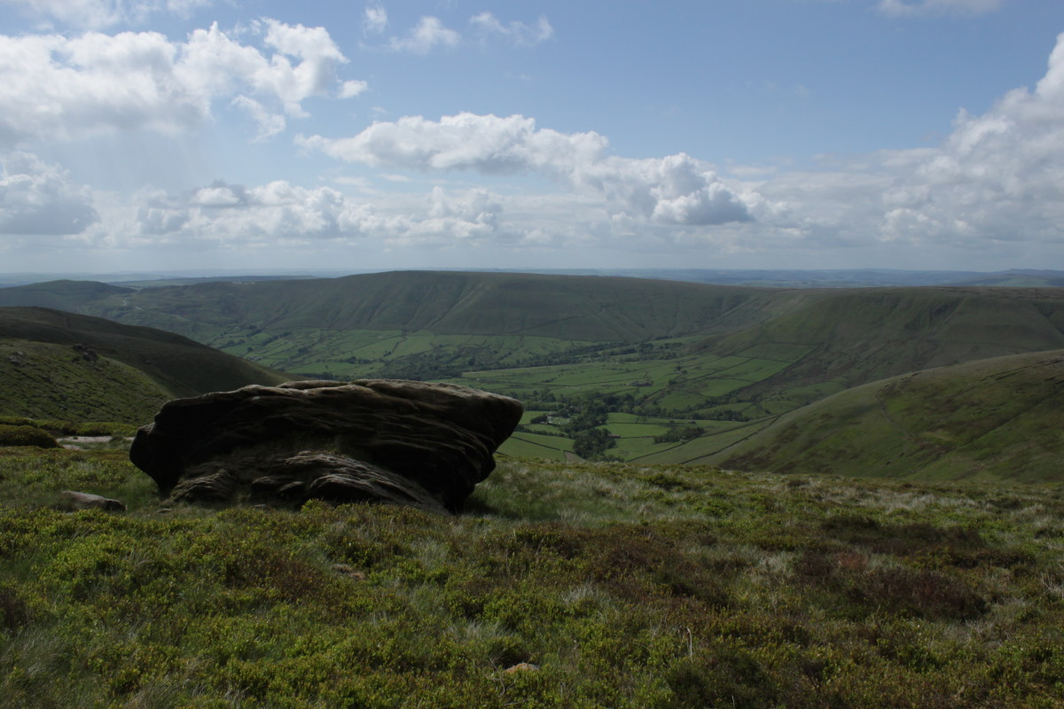 Pym Chair. Have a seat and look down on Edale