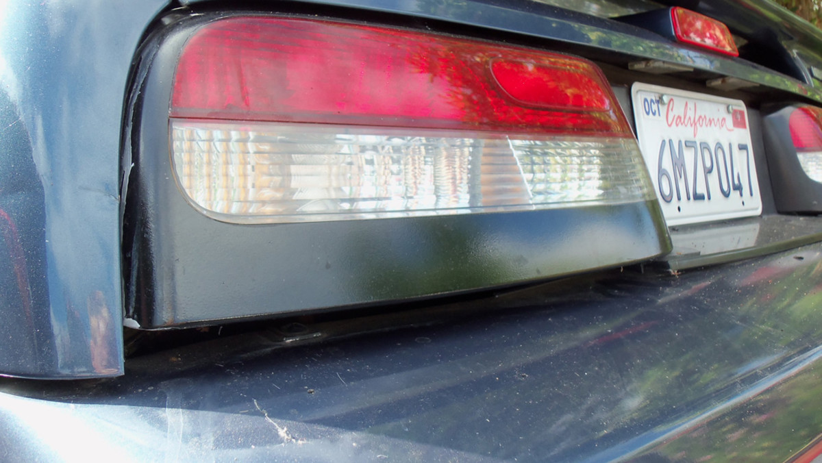 "with no valance, there is a 1"" gap between the taillight and bumper. The Valance corrects it."