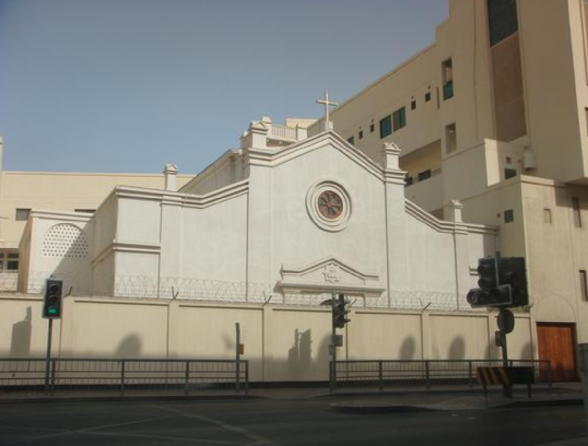 Sacred Heart Church-Manama, Bahrain