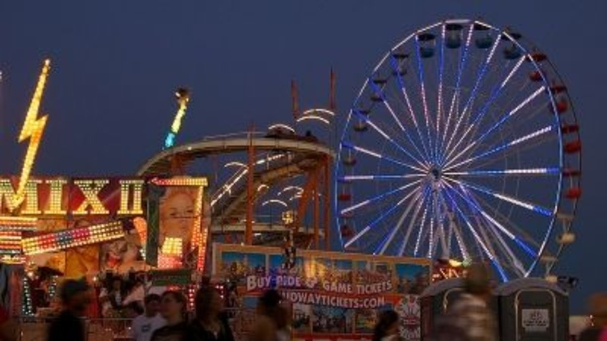 The Pima County Fair in Tucson, Arizona
