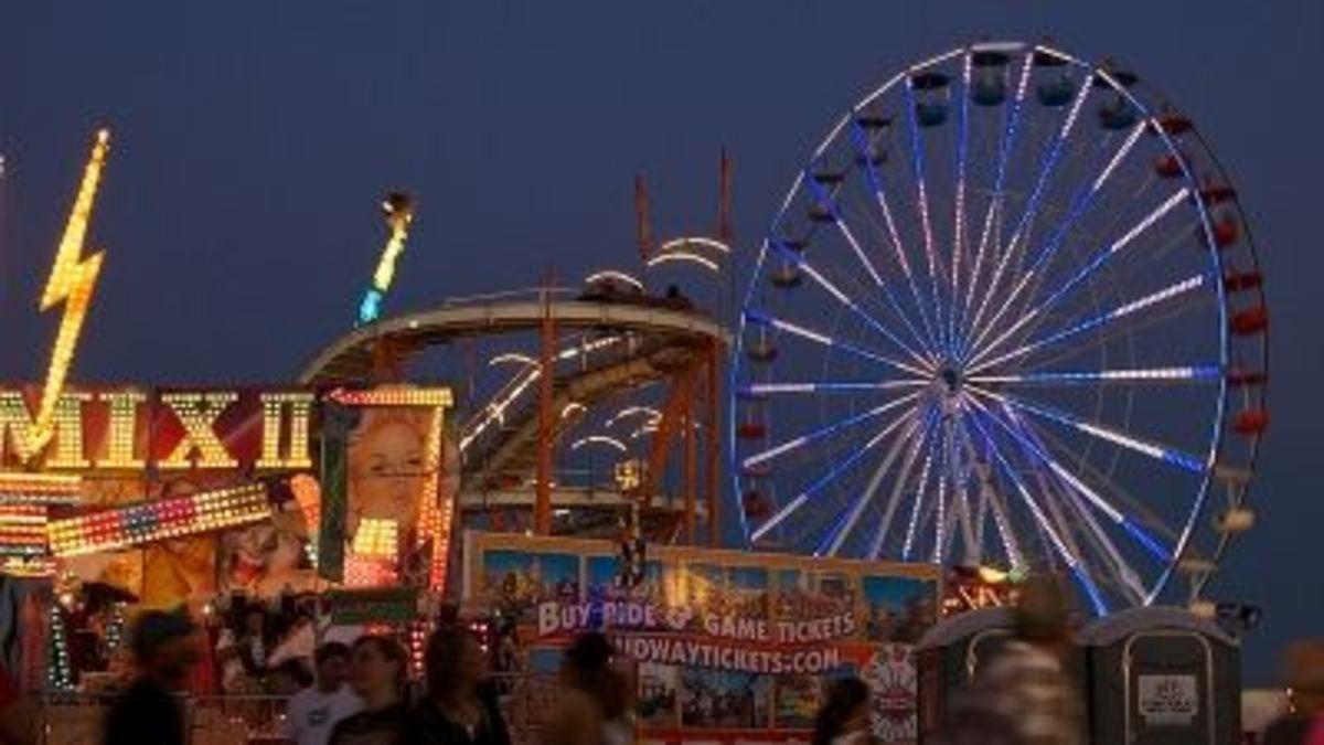 The Pima County Fair in Tucson, Arizona