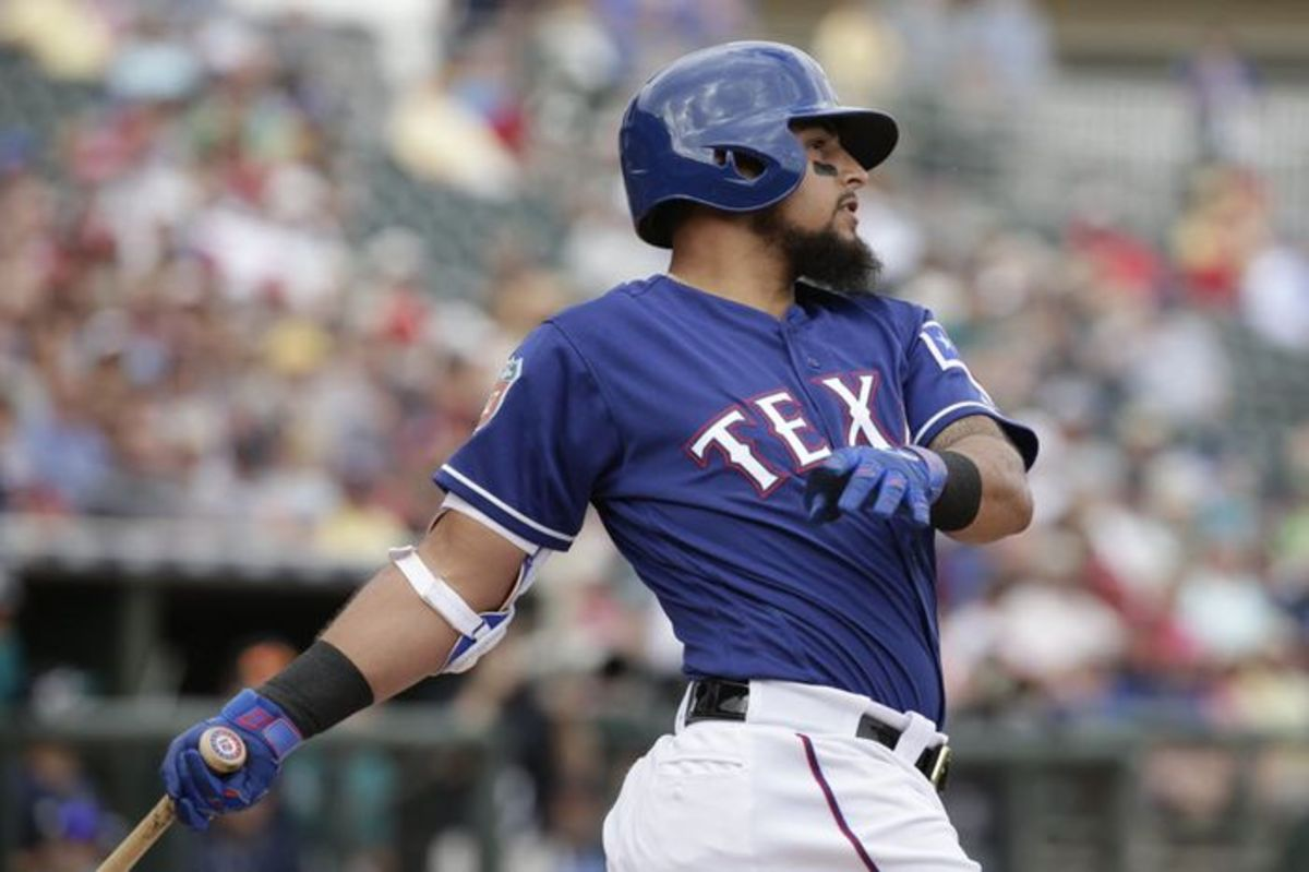 Rougned Odor, the Slugging Second Baseman for the Texas Rangers