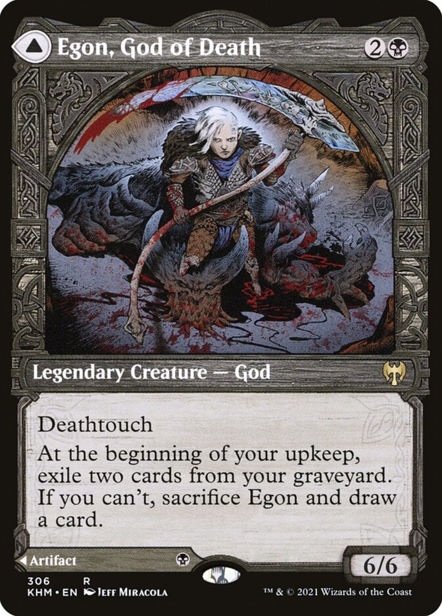 Egon, God of Death mtg