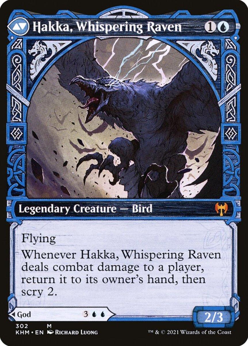 Hakka, Whispering Raven mtg