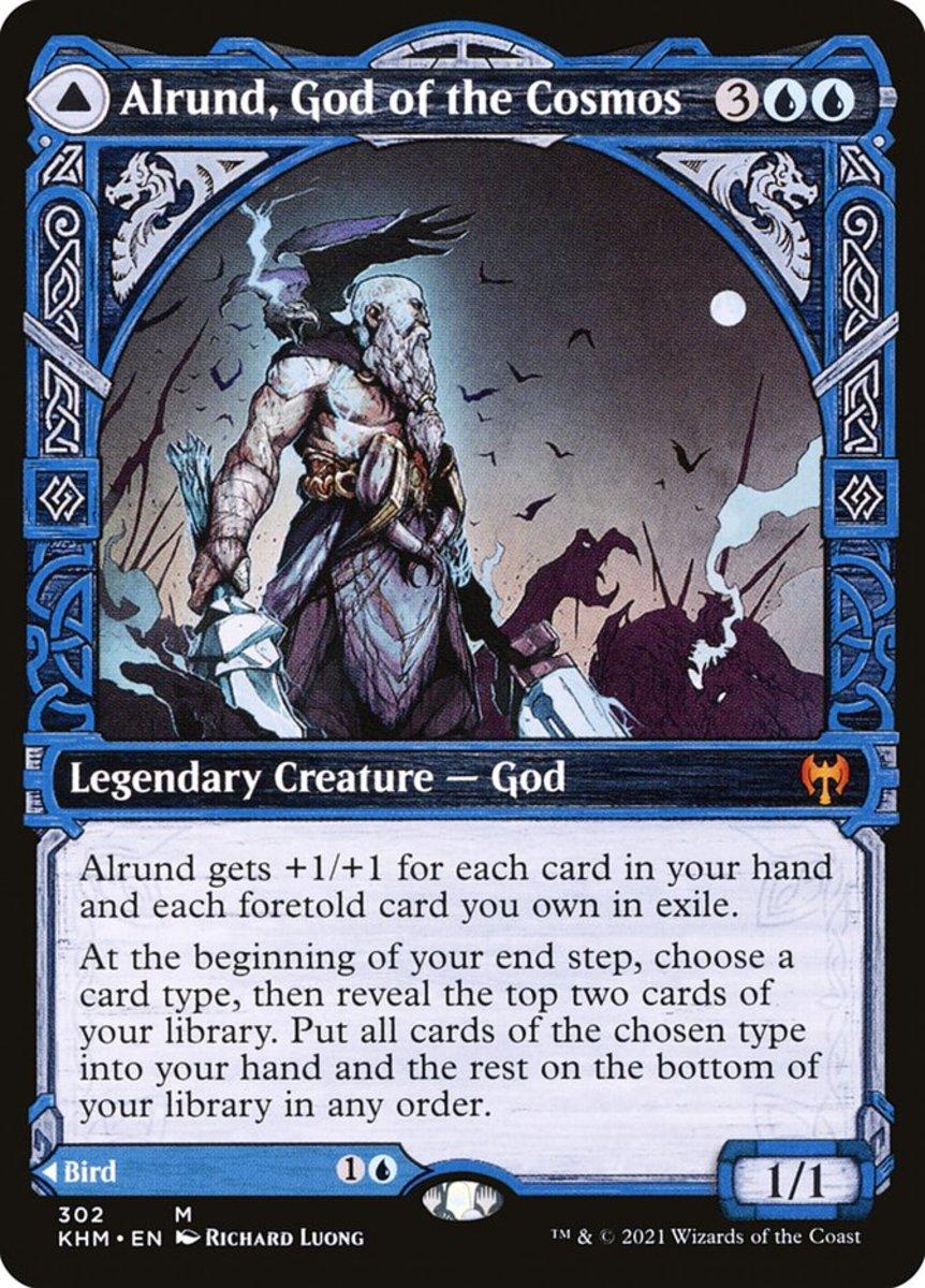 Alrund, God of the Cosmos mtg