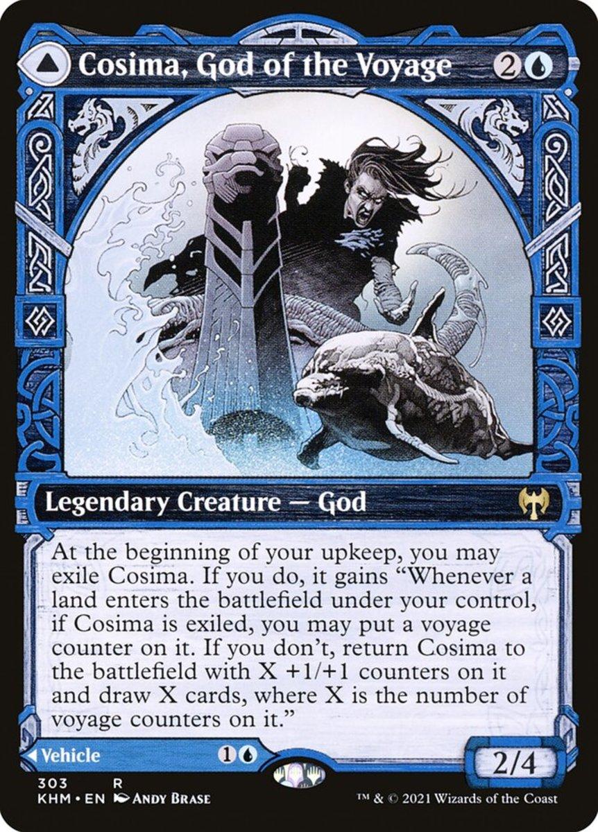 Cosima, God of the Voyage mtg