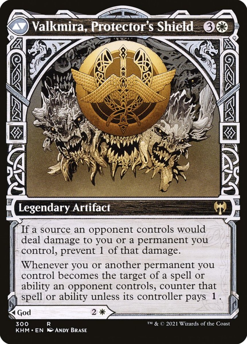 Valkmira, Protector's Shield mtg