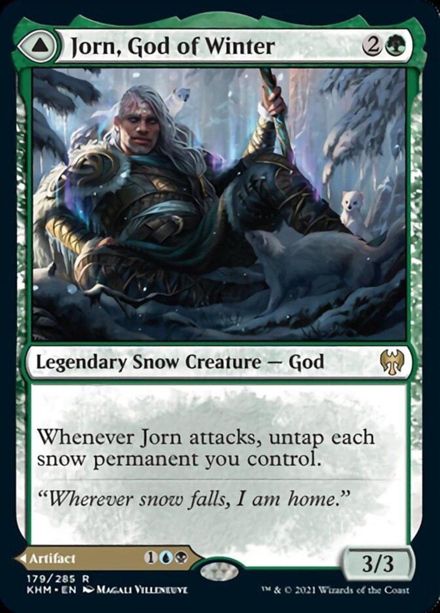 Jorn, God of Winter mtg