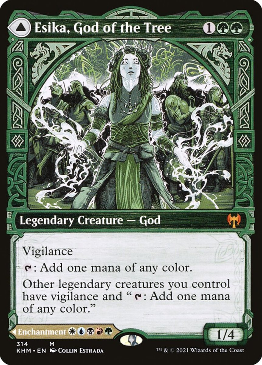 Esika, God of the Tree mtg