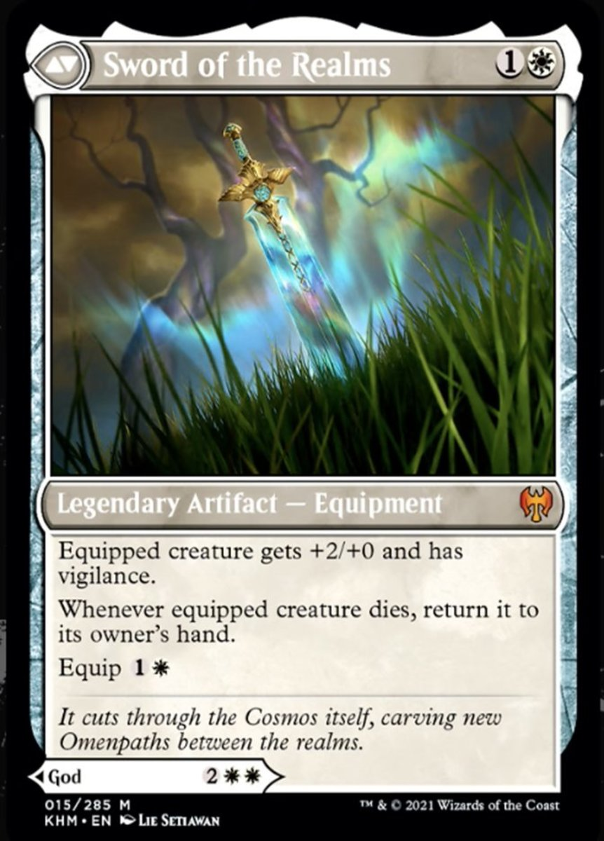 Sword of the Realms mtg