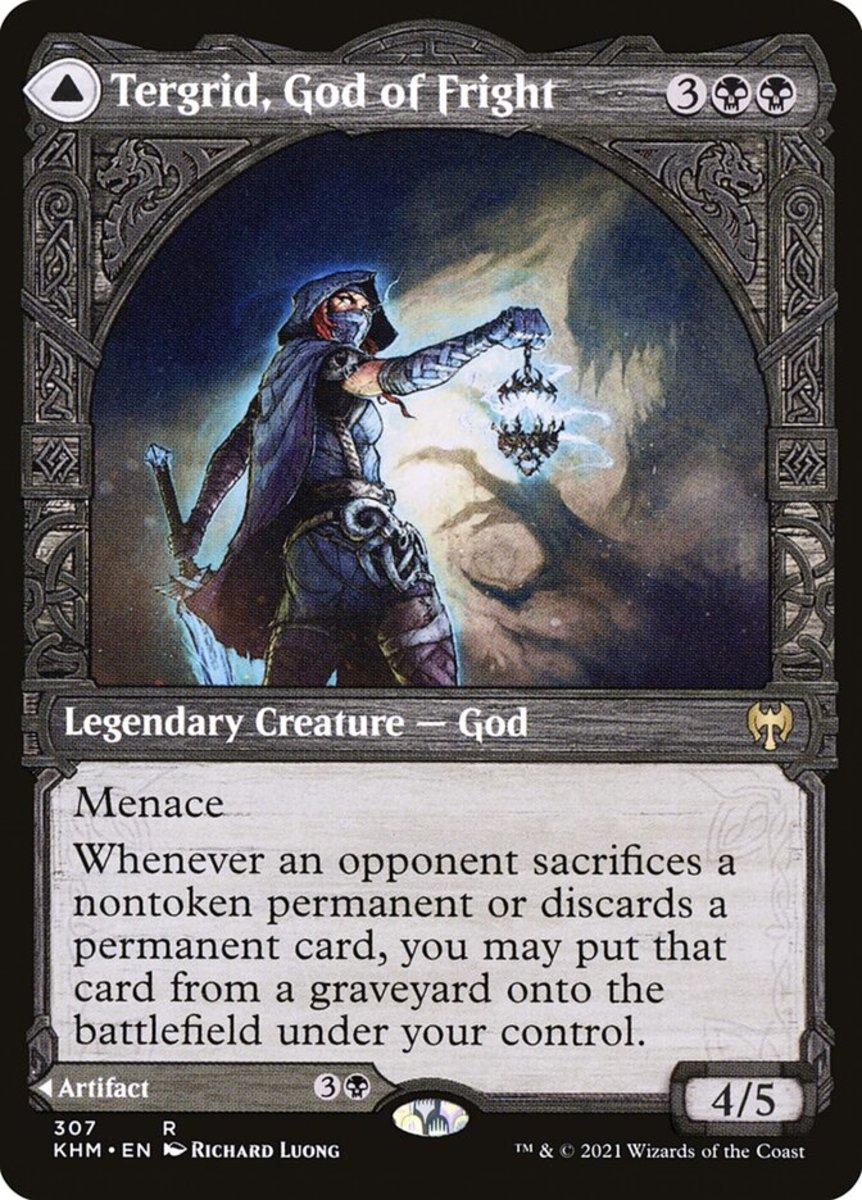 Tergrid, God of Fright mtg