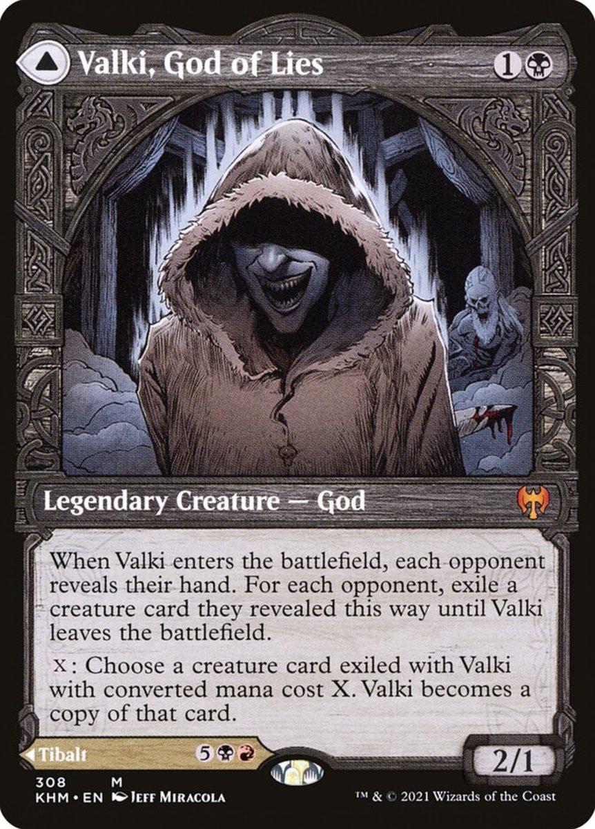 Valki, God of Lies mtg