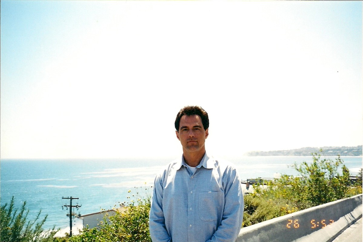 YOUR AUTHOR IN MALIBU