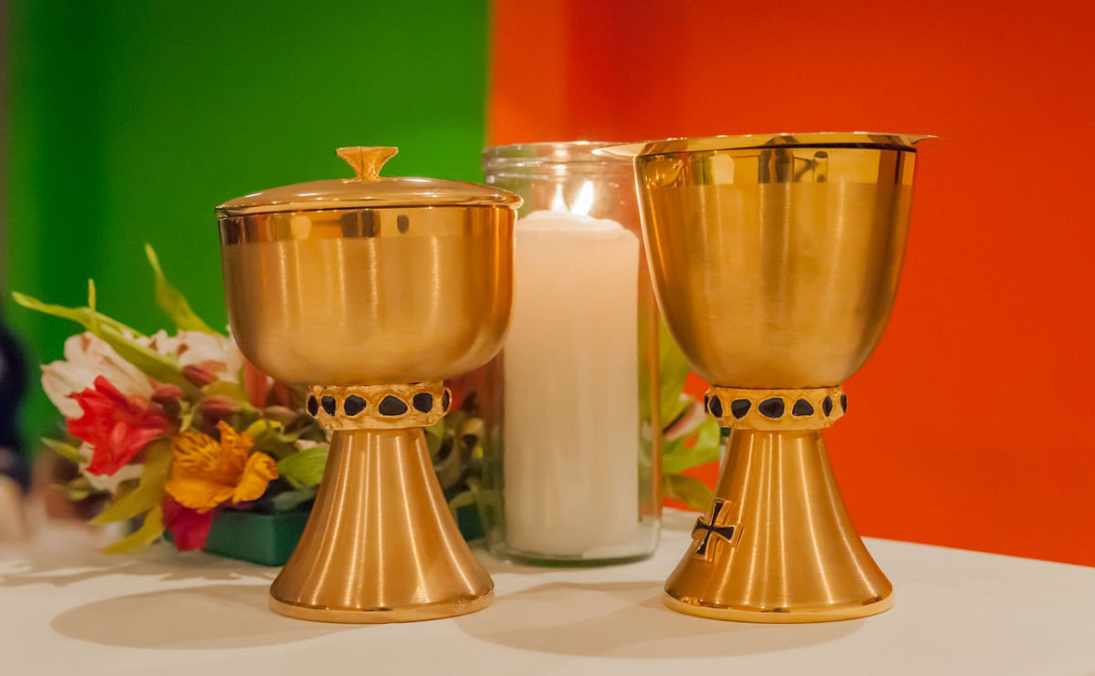 Water and Wine Chalices