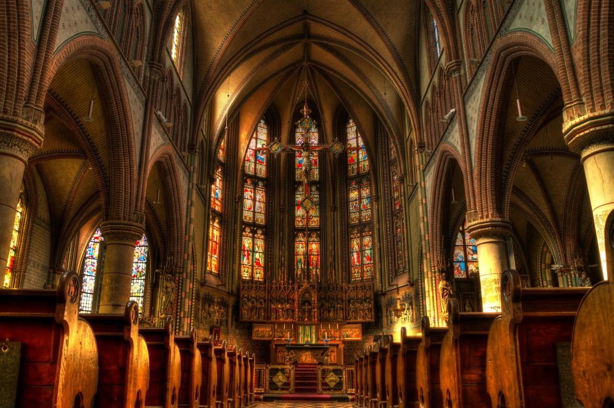 Church Altar Mass Religion Christian Holy